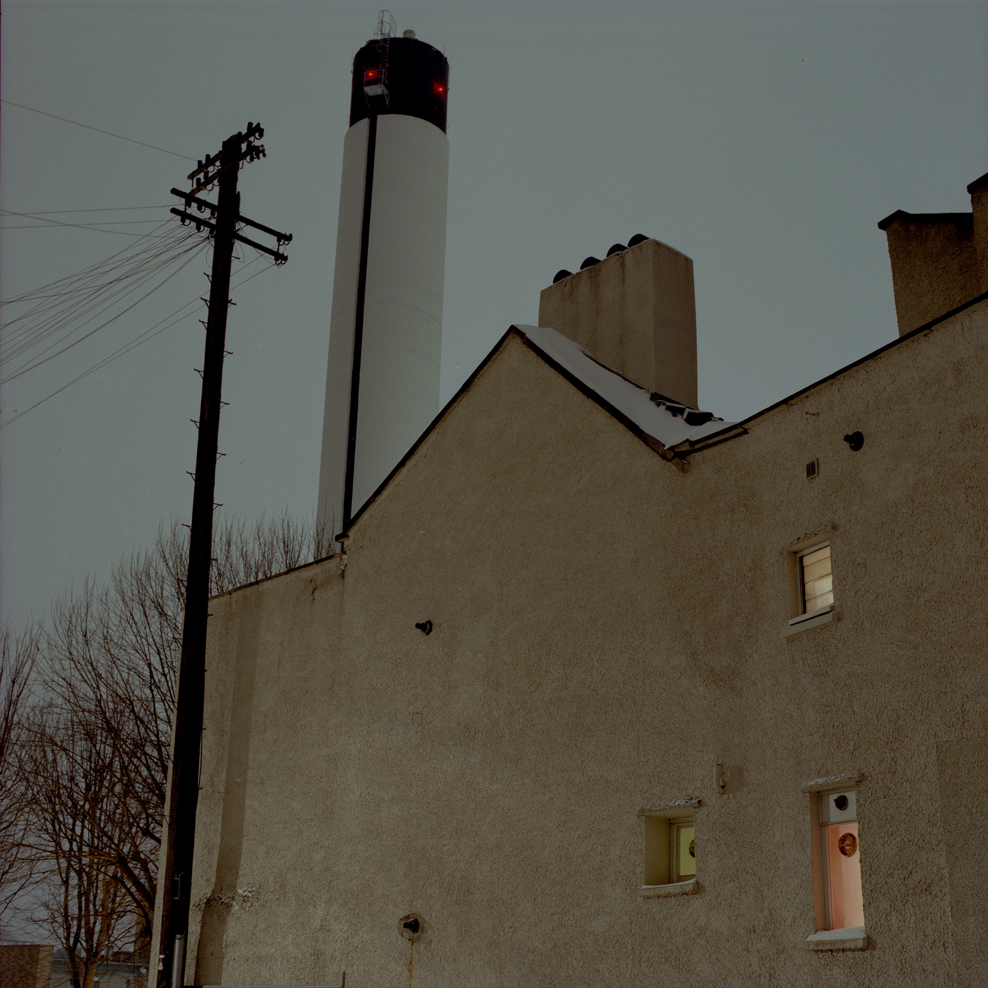 Rooftops, Chimneys & Underpasses 1